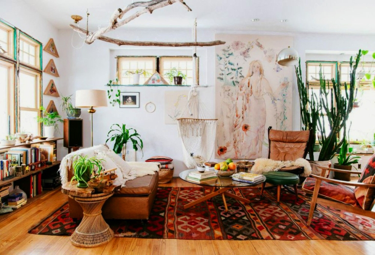 These 10 Bohemian-Chic Décor Ideas Feel Easy, Breezy, and Beautiful